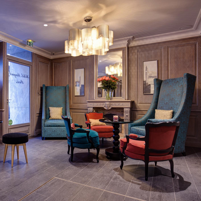 H tel muguet boutique h tel architecture stories for Boutique hotel 7eme